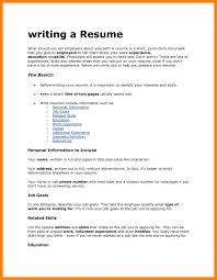 What To Have On Your Resume What To Include On A Resume Resume For Your Job Application