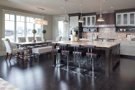 Kitchen Faucets Calgary Calgary Trestle Table Kitchen Contemporary With Glass Front
