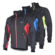 warm cycling jacket arsuxeo men s cycling jacket bike winter fleece jacket jacket