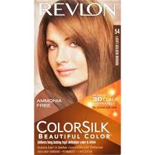light golden brown hair color colorsilk hair color 54 light golden brown