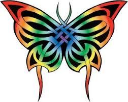 celtic butterfly tattoos celtic butterfly rainbow