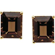 smoky quartz earrings genuine smoky quartz earrings rd1883105