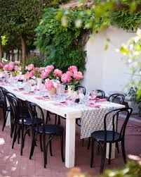 a pink kate spade inspired california wedding martha stewart
