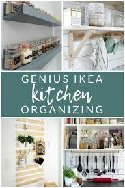 kitchen cabinet storage ideas ikea ikea kitchen organizing hacks 10 genius ideas the