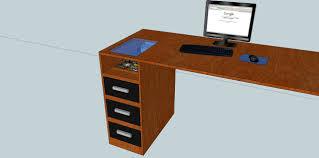 Schreibtisch Pc Schöner Wohnen Casemod Der Wakü Pc Im Schreibtisch
