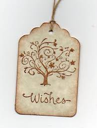 handmade wedding wish tags wedding tags wishing tree tags for
