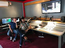tv studio desk coke music tv show u0027s host studio upgrades to audient audient