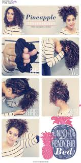 hairstyles that can be worn curly the pineapple method for natural hair curly curly hair tutorial