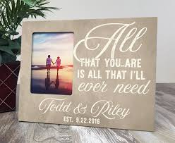 Personalized Wedding Photo Frame Personalized Wedding Picture Frames Marriage Picture Frame