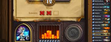 Diamond Hoggers Part 175 - 12 win decklists the arena hearthstone game modes hearthpwn