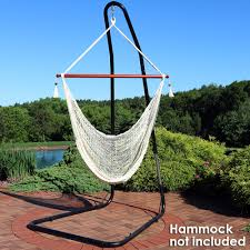 Free Standing Hammock Chair Sunnydaze Adjustable Heavy Duty Hammock Chair Stand For Hammock