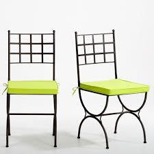 chaises fer forg chaise en fer forgé calligari shop