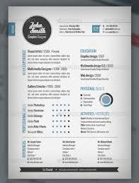 Free Graphic Design Resume Templates by Design Resume Template Free Best Templates For Designers 7 Clean