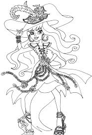 free printable monster high coloring pages vandala doubloons