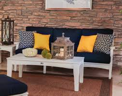 Living Room Design Brick Wall Living Room Poly Lumber Classic Terrace Sofa Design With