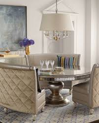 banquette with round table patrice banquette round dining table banquettes and rounding