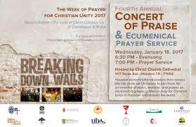 non denominational thanksgiving prayer 4th annual houston ecumenical prayer service interfaith