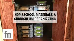 family organization homeschool materials and curriculum organization family