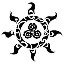 hawaiian tattoos design and ideas turtle polynesian pencil