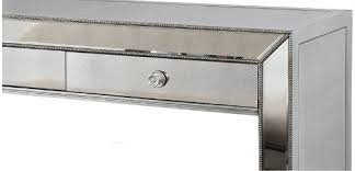 t1803 best master mirrored console table and bench