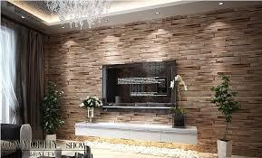 aliexpress com buy rustic modern 3d room faux brick wall