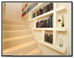 stairway wall mounted bookcase stairway 96 wall mounted bookcase home design ideas