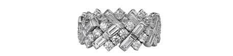 cartier alliances l alliance en diamant baguette de cartier vogue