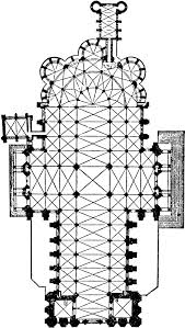 Cathedral Floor Plan Chartres Cathedral Clipart Etc