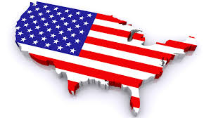 Country American Flag Flag Inside Country Map Outline Pictures Dowload