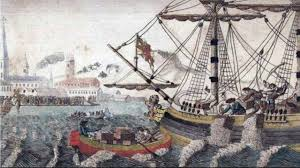 today in history port of boston act becomes law 1774 youtube