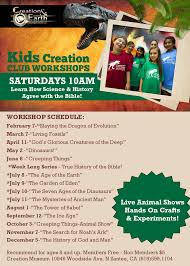 creation club for kids creation and earth history museum