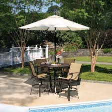 Tall Patio Table And Chairs by High Top Bistro Patio Set Patio Outdoor Decoration