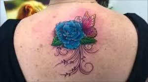 cover up tattoo with a rose n name tattoos