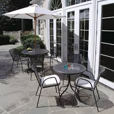 Nantucket Bistro Table Outdoor Dining Tables Savannah 31 1 2 In Bistro Table Country
