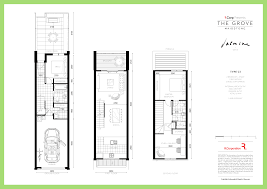 townhouse floor plans home design inspiration
