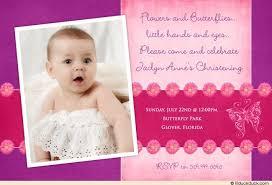 christening invitation sample design pointro me