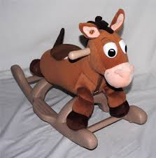 Dexter Rocking Chair Disney Toy Story My Rocking Bullseye Rocking Horse Trotting Sounds