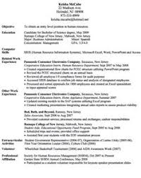 Human Resource Entry Level Resume Hospitality Cv Templates Hotel Receptionist Corporate
