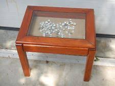 dark wood accent tables oak accent tables ebay
