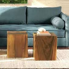 Coffee Table Cube Marvelous Coffee Table With 4 Ottomans Cube Coffee Table