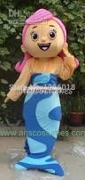 online shop bubble guppies character molly mascot costume animal
