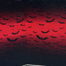 halloween scene setters vampire bite blood halloween party scene setter room roll red
