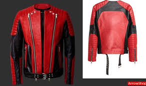 leather motorcycle jackets for sale mens black and red leather motorcycle jacket the flash board