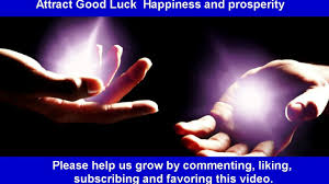 law of attraction attract good luck happiness and prosperity