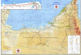 United Route Map by Maps Of Uae United Arab Emirates Map Library Maps Of The World