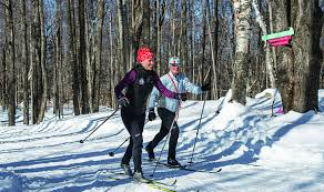 nordic center cross country ski and snowshoe at stratton mountain
