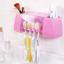 multifunctional toothbrush holder storage box bathroom accessories