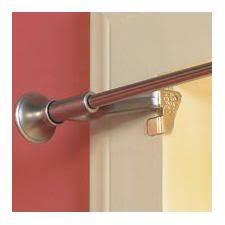Curtain Tension Rod Extra Long F I N A L L Y A Reveal Post No Drill Curtain Rod Brackets