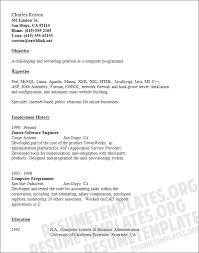 Computer Programmer Resume Example by Programmer Resume Example
