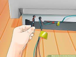 How To Clean A Whirlpool Dishwasher Drain 3 Easy Ways To Clean A Smelly Dishwasher Wikihow